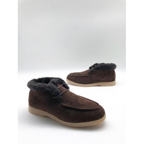 Ботинки зимние женские Loro Piana - арт.291046