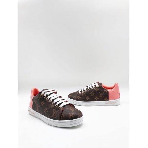 Кеды женские Louis Vuitton Frontrow Pink - арт.000174