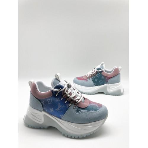 Кроссовки Louis Vuitton Run Away Pulse с фосфором - арт.000332