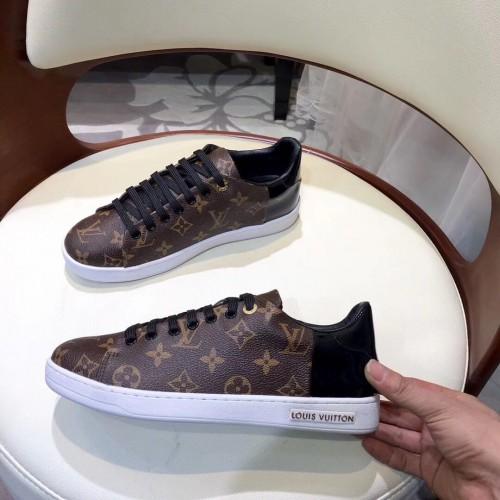 Кеды женские Louis Vuitton Frontrow Black