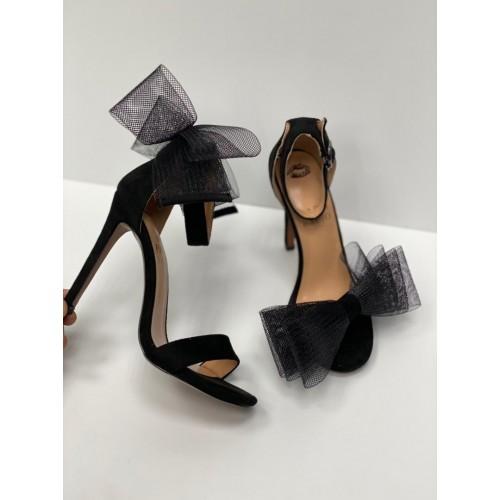 Босоножки с бантом из сетки  женские  Paris Bacio - арт.642539