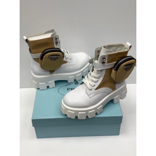 Ботинки женские с сумочкой Prada - арт.212563