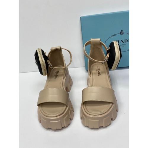Босоножки с сумочкой женские Prada  - арт.214428