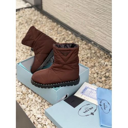 Ботинки демисезонные женские Prada  - арт.215672