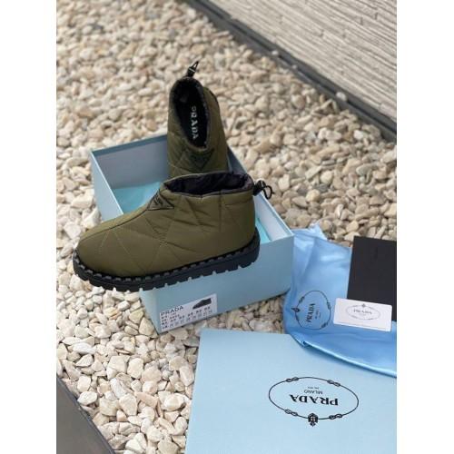 Ботинки демисезонные женские Prada  - арт.215676