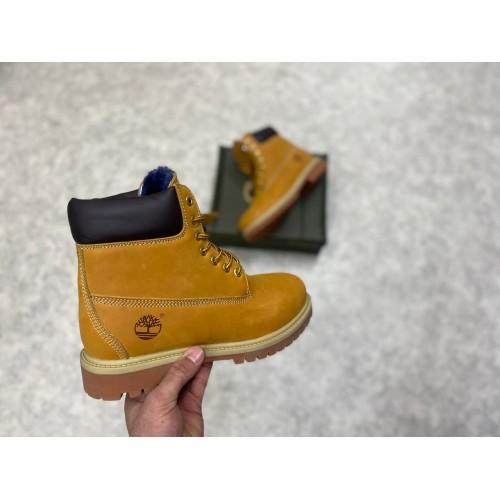Ботинки зимние мужские Timberland - арт.521360